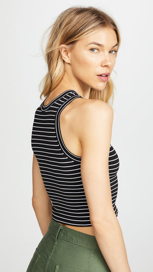 Free People Seamless Striped Crop