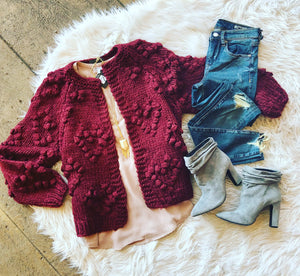 Heart On My Sleeve Cardigan