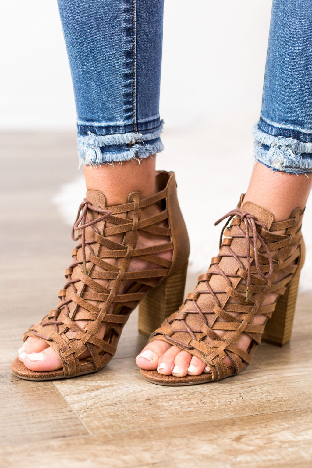Jacey Caged Heel