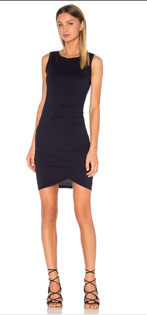 Bobi Ruched Dress
