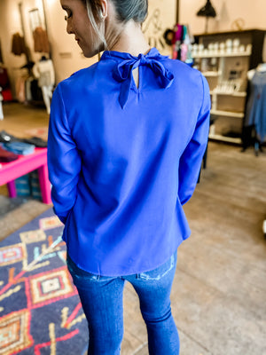 Oh So Blue Blouse