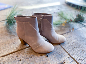 TOMS Lunata Bootie in Taupe