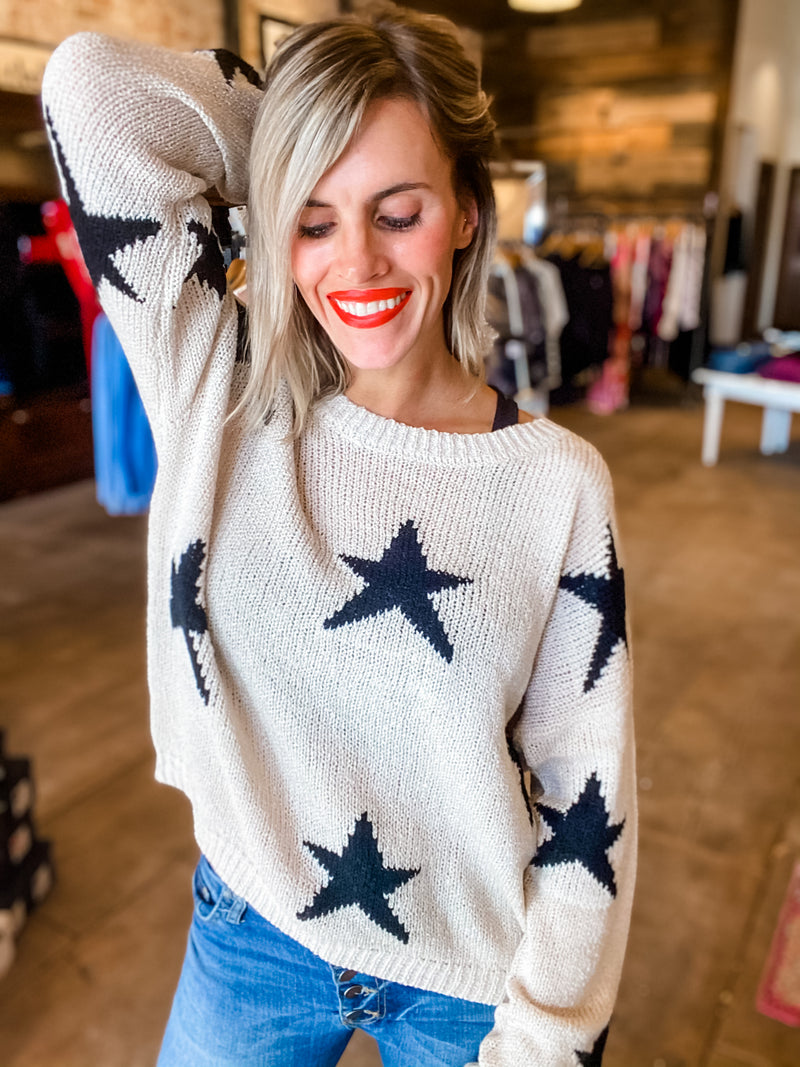 Shoot For The Stars Sweater