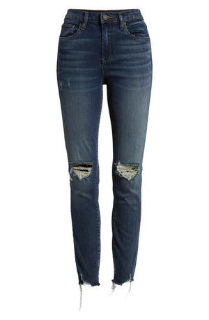 Blank NYC The Bond Distressed Denim In Gossip Girl