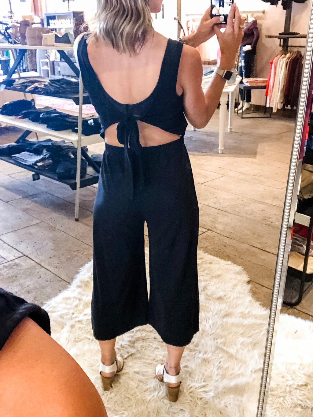 BOBI Open Back Jumpsuit