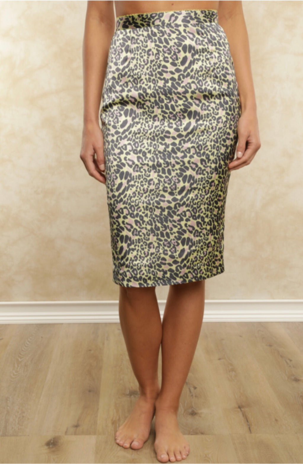 FLETCH Jaguar Pencil Skirt