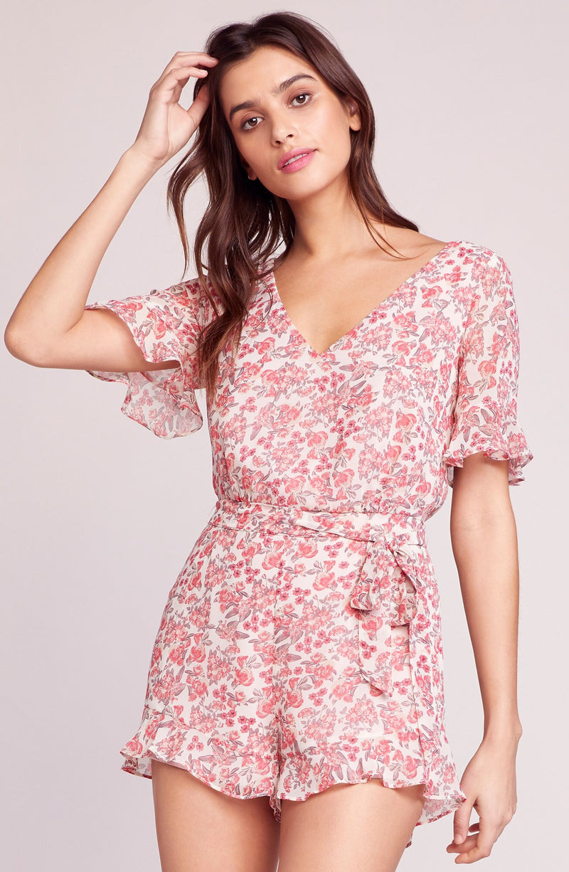 BB Dakota Picking Roses Floral Romper