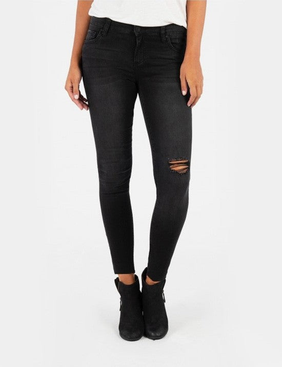 Kut From The Kloth Black Connie Ankle Skinny
