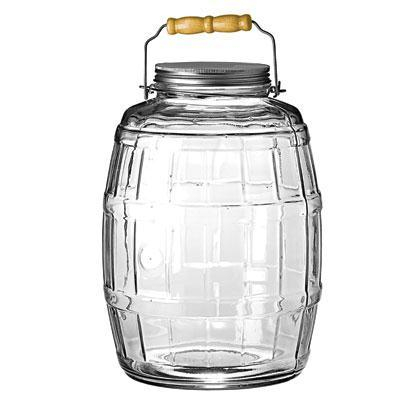 Anchor Hocking - Barrel Jar W/ Lid 2.5gal - 85679AHG17