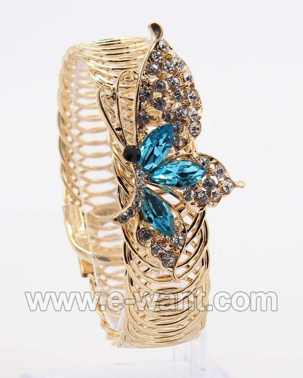 Turquoise Butterfly Design