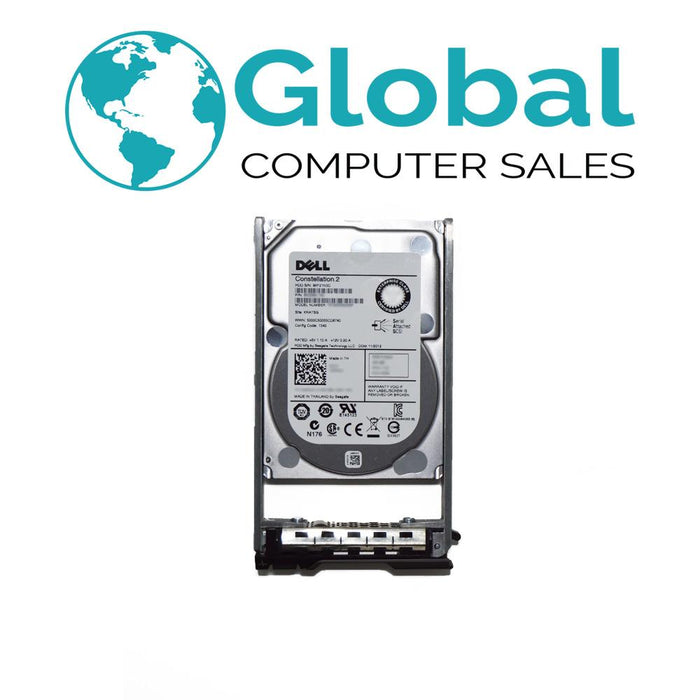 "Dell 600GB 6G 10K 2.5"" SAS 7T0DW 07T0DW HDD Hard Drive w/ R Series Tray"