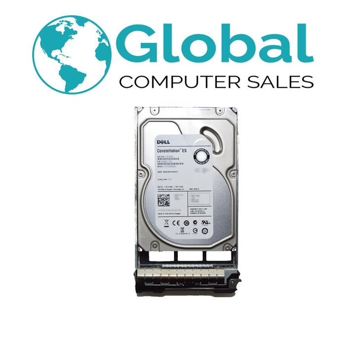 "Dell 500GB 6G 7.2K 3.5"" HDD Hard Drive F081K 0F081K w/ R-Tray"