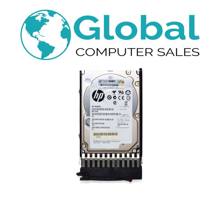 "HP Compatible 600GB 10K 6G 2.5"" 581286-B21 581311-001 SAS Third Party OEM Hard Drive HPE"