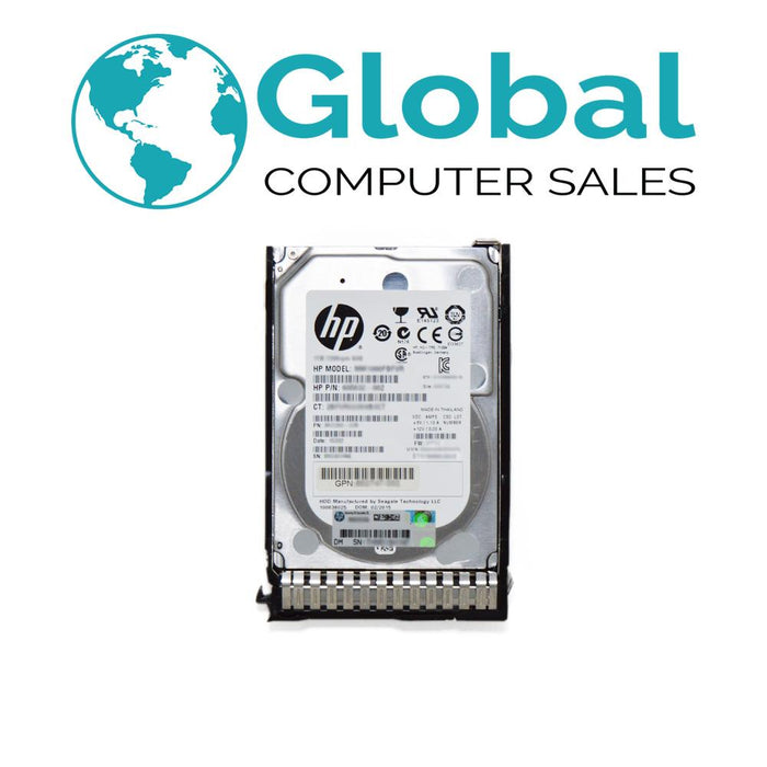 "HP 300GB 6G 15K 2.5"" SAS M6625 QR477A 665750-001 627114-002 Dual-Port Hard Drive HPE"