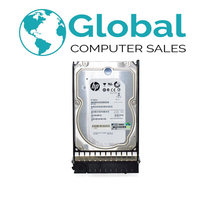 "HP Compatible 4TB 7.2K 3.5"" 693689-B21 693721-001 G7 SAS Third Party OEM Hard Drive HPE"