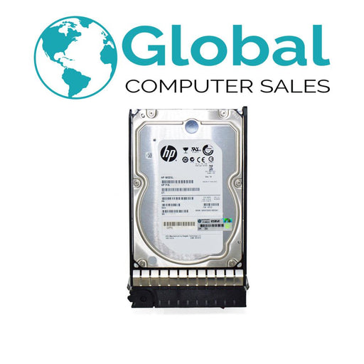 "HP 600GB 6G 15K 3.5"" EF0600FARNA SAS DP HDD Hard Drive HPE"