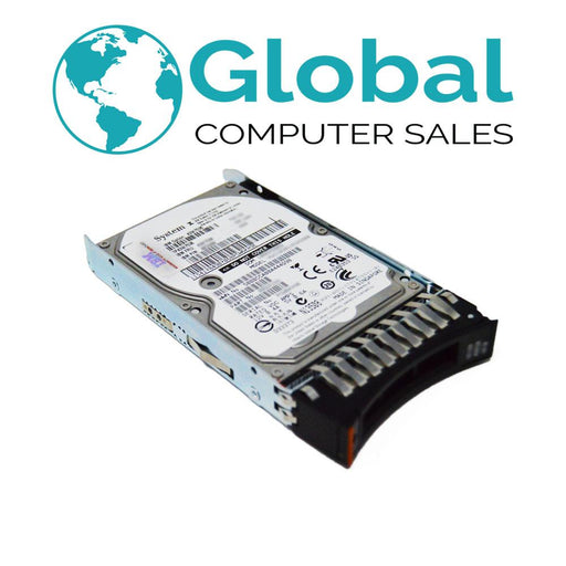 "IBM 49Y2052 600GB 10K 6G SFF SAS 2.5"" Hard Drive with Tray 49Y2051 49Y2048 MBF2600RC"