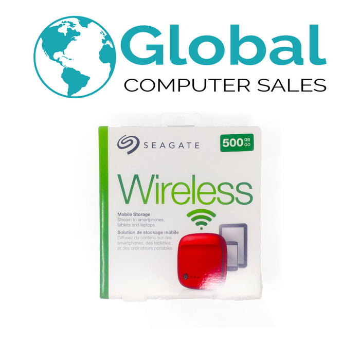 Seagate STDC500402 500GB External Mobile Wireless USB Portable Hard Drive Factory Sealed!