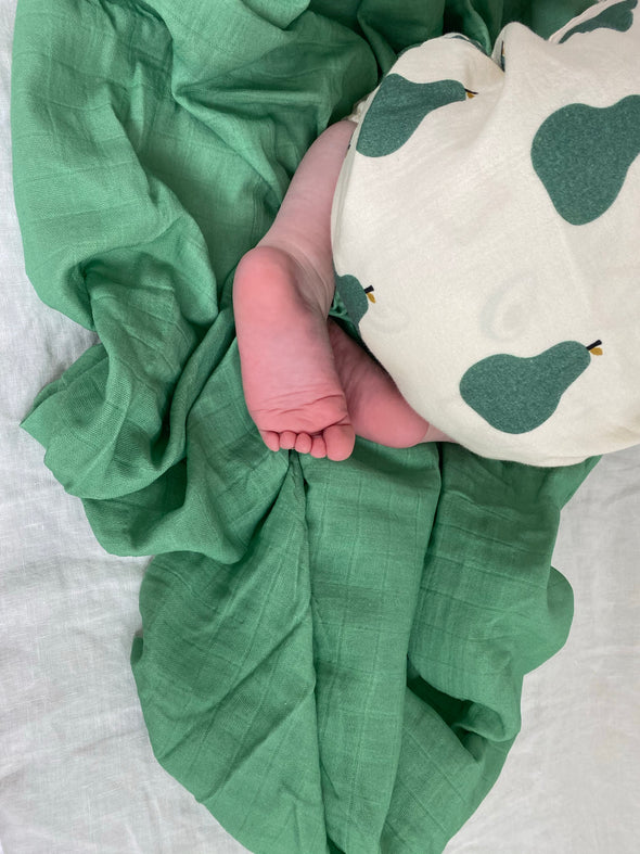 Schoolhouse Green - SnuggleableSwaddle