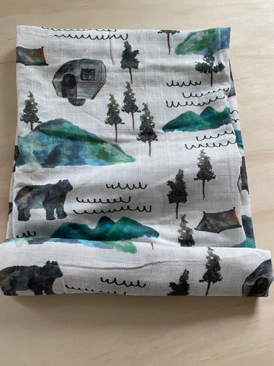 Mountain Campers SnuggleableSwaddle- PVB Exclusive