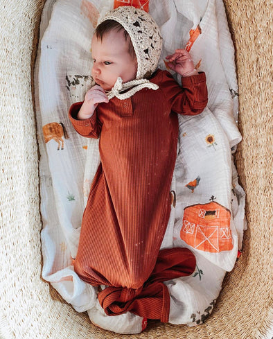 Farm Life SnuggleableSwaddle- PVB Exclusive