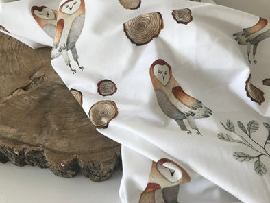 Barn Owl SnuggleableSwaddle™️ - PVB Exclusive
