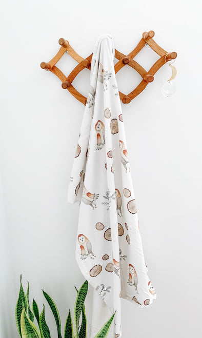 Barn Owl SnuggleableSwaddle - PVB Exclusive