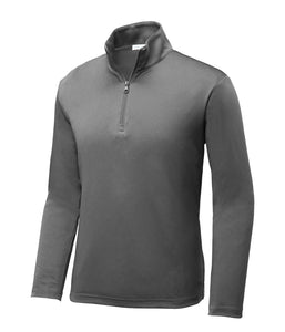 Adult 1/4 zip Dri fit
