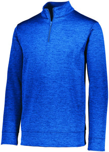 Men's Stoked Tonal Heather Pullover-Local School Left Chest Design