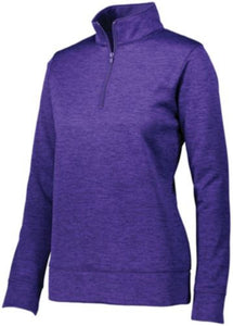 Women's Stoked Tonal Heather Pullover-Local School Left Chest Design