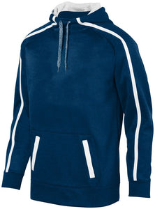 Men's Stoked Tonal Heather Hoodie-Local School Full Front Design