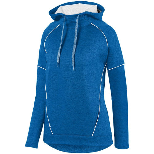 Ladies Zoe Tonal Heather Hoodie-Local School Full Front Design