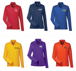 Local Schools Dri Fit 1/4 Zip