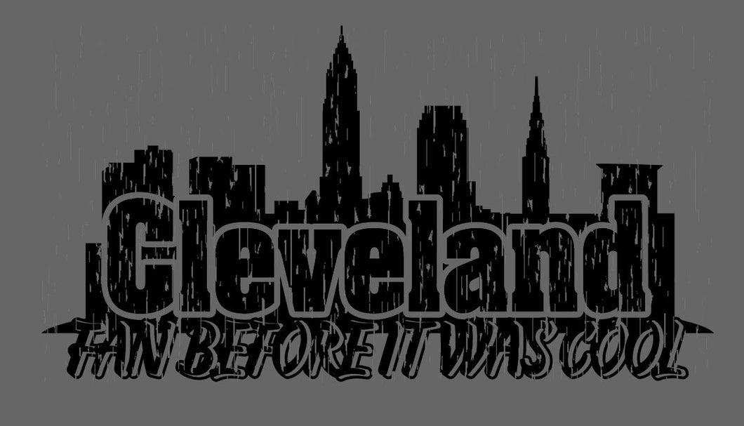 Cleveland Fan Before it was Cool