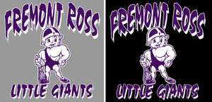 Fremont Ross (FRAS09) Design on Optional Apparel