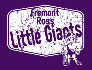 Fremont Ross BOOSTERS (FRAS15) Design on Optional Apparel