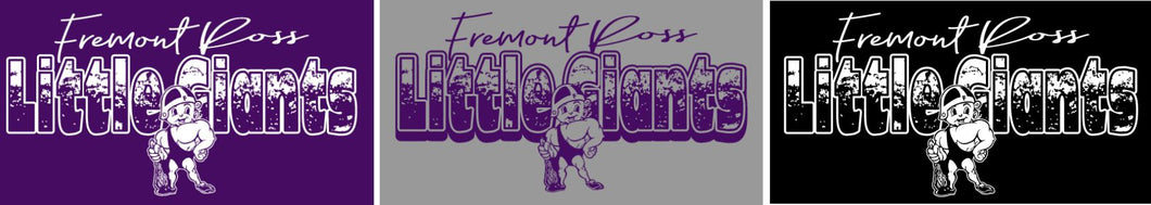 Fremont Ross (FRAS24) Design on Optional Apparel