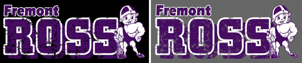 Fremont Ross (FRAS28) Design on Optional Apparel