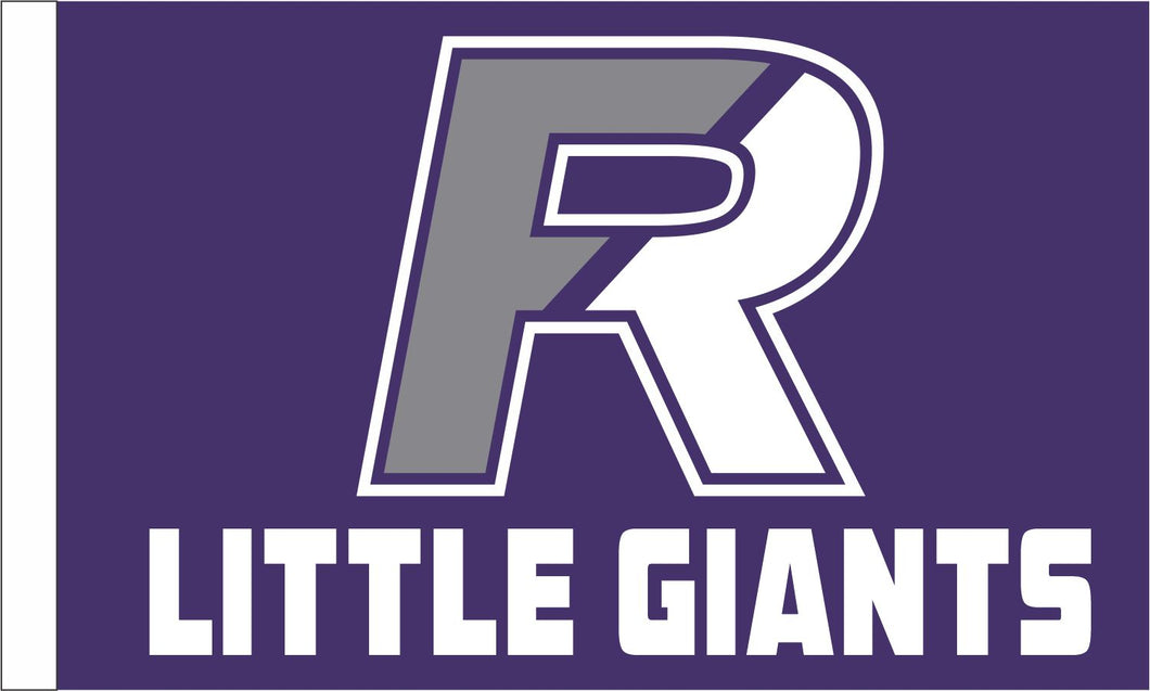 PRESALE!  Fremont Ross Little Giants  3' x 5' Double Sided Outdoor Flag