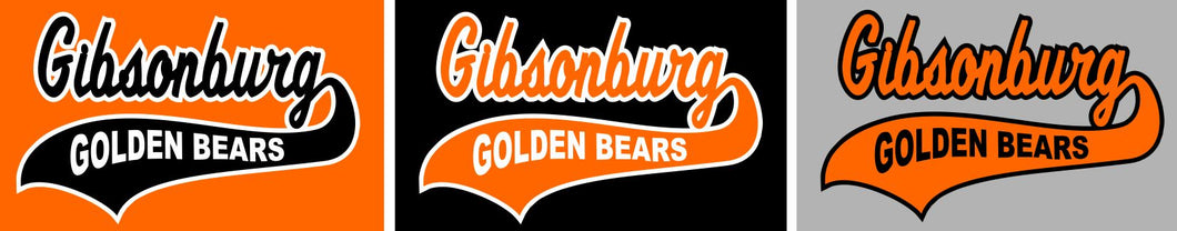 Gibsonburg (GBAS03) Design on Optional Apparel