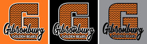 Gibsonburg (GBAS06) Design on Optional Apparel