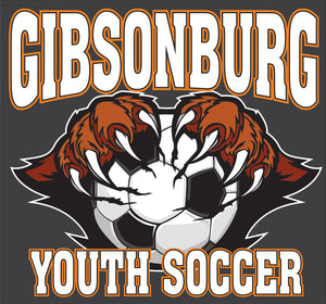 Gibsonburg Youth Soccer Car Decal