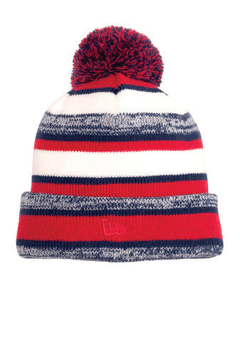 Fleece Lined Beanie with Embroidery
