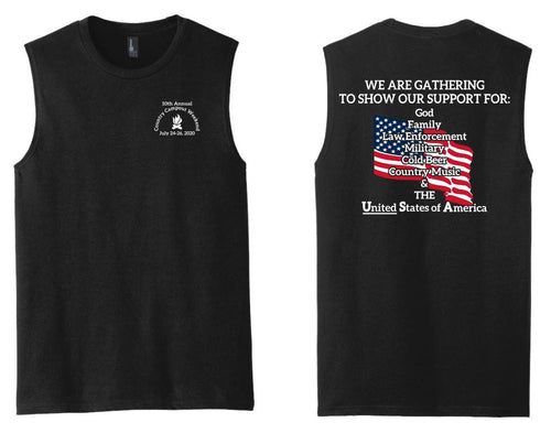 Country Campout Weekend Tank/Sleeveless Options