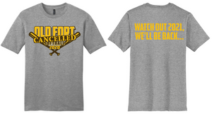 2020 Cancelled Spring Sports-Old Fort Softball T-Shirt