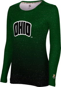 Ohio University Long Sleeve Tee-Ombre