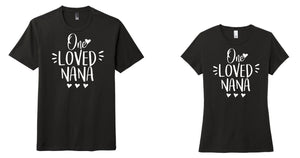 One Loved Mama/Nana- Perfect Triblend