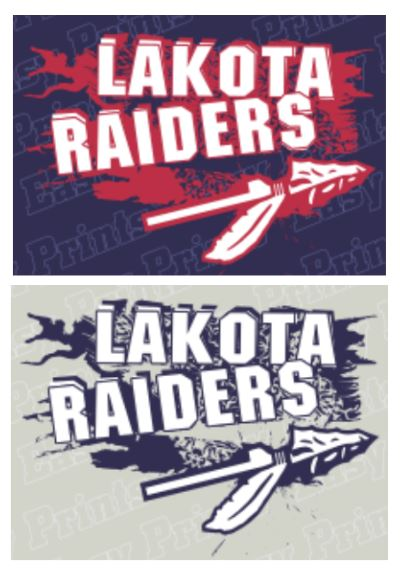 Lakota (QLS36) Design on Optional Apparel