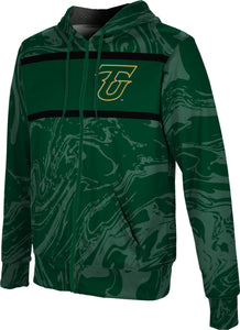 Tiffin University Full-Zip Hoodie-Ripple