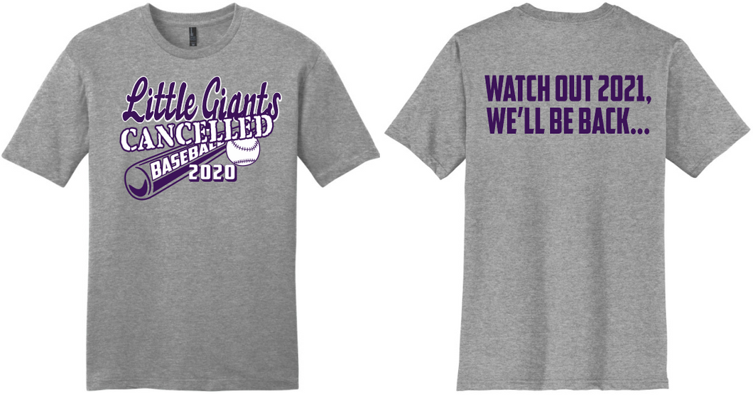 2020 Cancelled Spring Sports-Fremont Ross Baseball T-Shirt